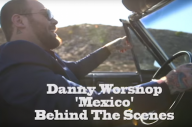 Take A Look Behind The Scenes On Danny Worsnop's New Video