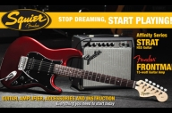 WIN One Of Two Fender Squier Guitar Sets With Rock Sound