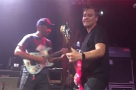 Mark Hoppus, Tom Morello + Mumford & Sons Played 'What's My Age Again?' Together