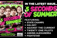 5 Seconds Of Summer Are Back On The Cover Of Rock Sound!