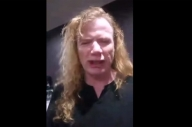 "Megadeth's Dave Mustaine Fires Guitar Tech, Calls Him ""A Total Waste Of Skin And Life"""