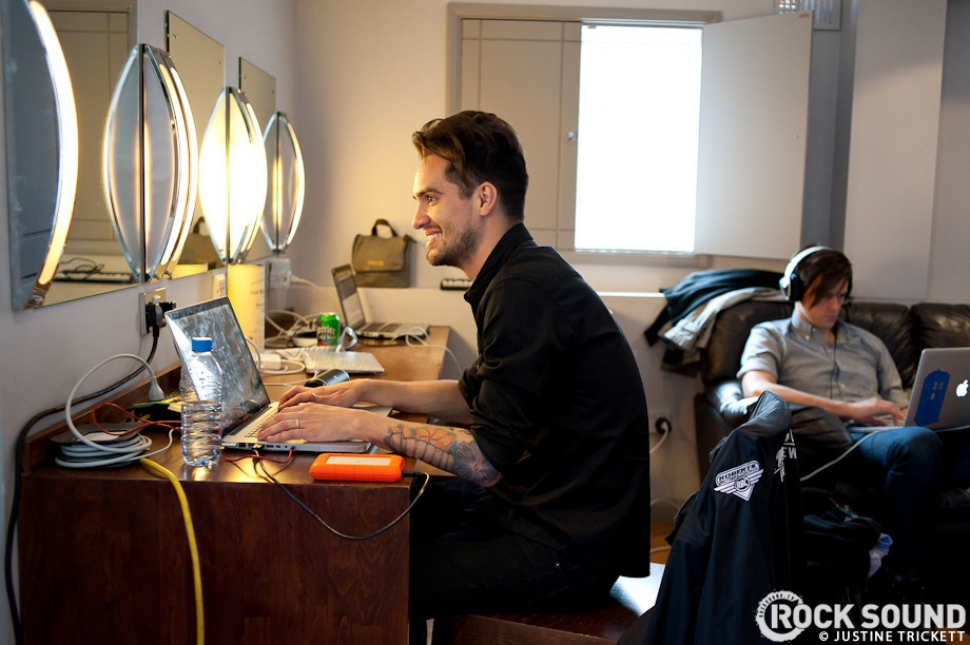 Backstage + Onstage With Panic! At The Disco In London