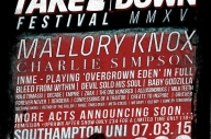 10 New Names Join Takedown Festival 2015