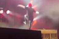 Watch Twenty One Pilots' Tyler Joseph Fall Off A Piano, Finish Song Anyway