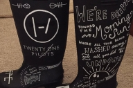 These Twenty One Pilots Wellies Are The Best DIY Merch You'll See This Summer