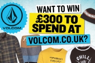 WIN £300 To Spend At Volcom.co.uk!